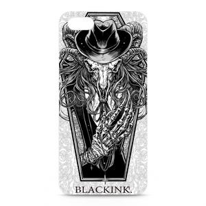 iPhoneケース - 黒羊 -