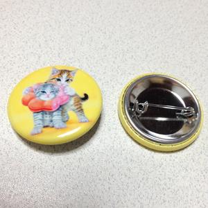 【雑貨】缶バッジ:ポンデニャイオンと食欲の兄。
