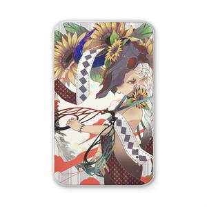 【515M】 陽の花 モバイルバッテリー