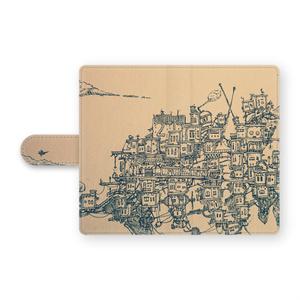 街の旅[Android手帳型ケース S・M]