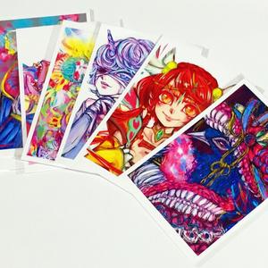 御伽の住人 ポストカード(9種)