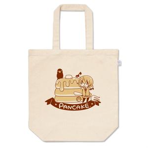 明智とパンケーキのトートバッグ