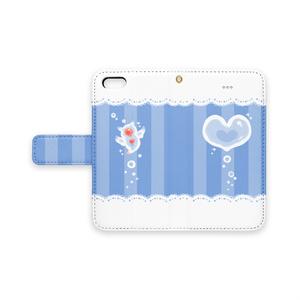 【手帳型iPhoneケース】クリオネのきもち
