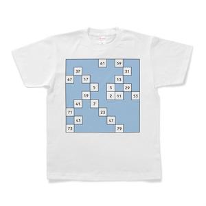 ウラムの螺旋 Tシャツ (試作品)