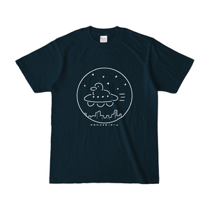かもTシャツ(絵白色)