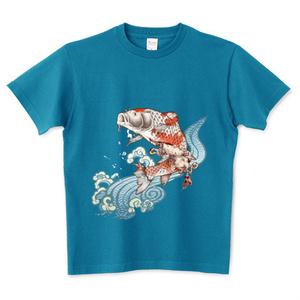 TシャツMサイズ「鯉変龍成」