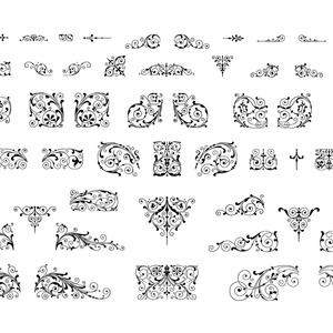 PRINTERS'FLOWERS from エンスヘデ活字鋳造所(物理加工の為の)