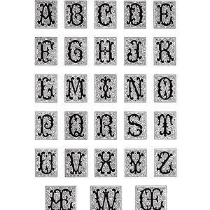 J. Laugier, Modèles graphiques d'alphabets industriels modernes