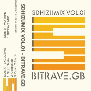 SDHIZUMIX Vol.01 - BITRAVE.GB (カセットテープ)