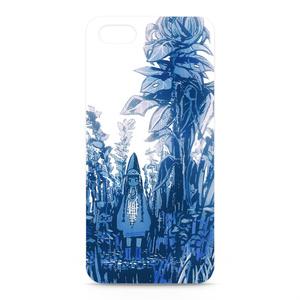 iPhoneケース「青色妖精の庭」