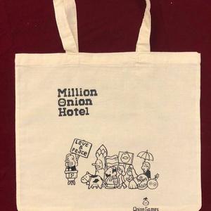 MillionOnionHotel「描き下ろしコットンバッグ」