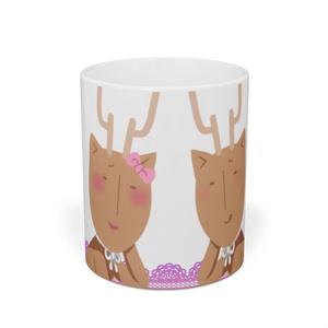 鹿マグカップ