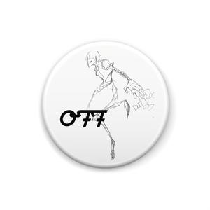 OFF缶バッチ シュガーVer