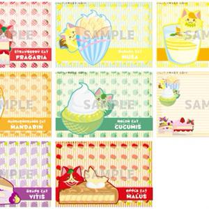 フルーツ猫×Sweets ポストカード