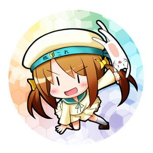 艦これ76㎜缶バッチエネミーサイド