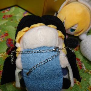【補充】彼羽織<黒・洗濯不可Ver>(もちもちマスコット用鶴丸羽織)