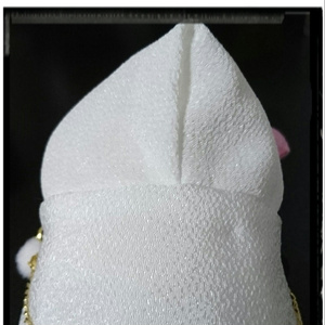【補充】彼羽織・改<白・洗濯可>(もちもちマスコット用鶴丸羽織)