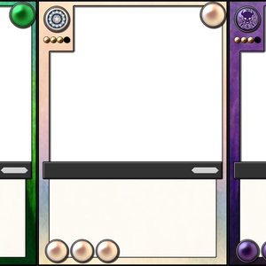 【BattleofUnion】第2弾用カード枠素材