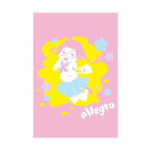 allegro ポストカード
