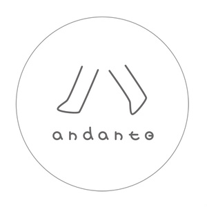 andante 缶バッジ
