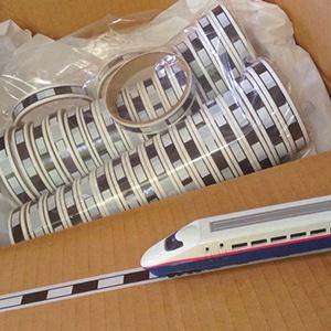 線路テープ