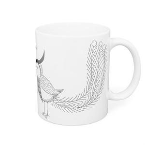 家光鳳凰風マグカップ