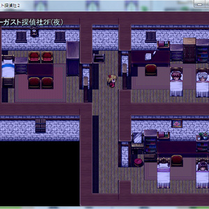 自作ゲーム オーガスト探偵社Ⅱ