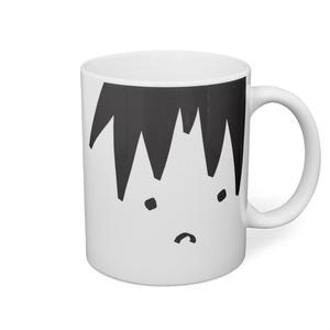 雪木佐マグカップ/イラスト ふじょこさん