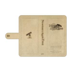 『ニュートンと林檎の樹』スマートフォンケース 九十九春