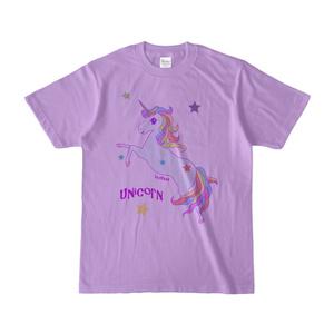 ユニコーンTシャツ(ライトパープル)