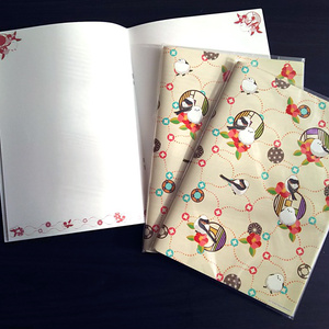 シマエナガのノート