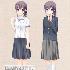 静岡県女子高校生制服図鑑6