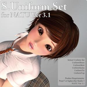 School Uniform Set for Natu Ver 3.1