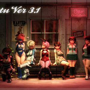 Cyber Girl Set for Natu Ver 3.1