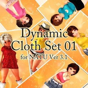 Dynamic Cloth Set for Natu Ver 3.1