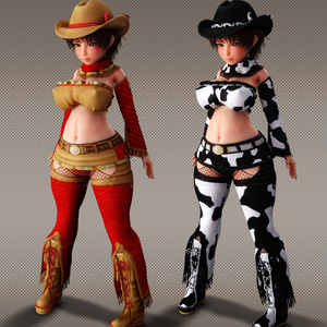 Cowgirl Outfit for Haru