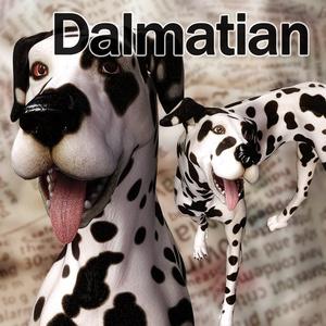CL-Dalmatian for Poser8Dog