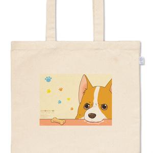 【受注生産】あしょんでよッ~うちの犬ログ~トートバッグ【7/31まで】