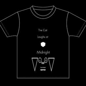 「ミッドナイトに猫は笑う」Tシャツ
