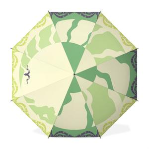 オリジナル傘 【角】 ライトグリーン