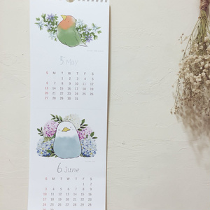 Drop Bird 2018年カレンダー