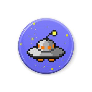 缶バッジ「UFO(カコリス)」