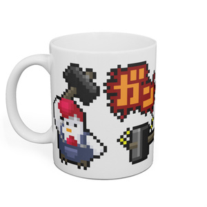 マグカップ「トサカのアニキ/鍛える (ピヨピヨクエスト)」