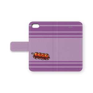 手帳型iPhoneケース「みたらし団子」