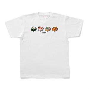 Tシャツ「SUSHI CUBE[type05] / 助六4種」