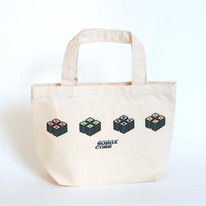 ランチトートバッグ「SUSHI CUBE [type03] / 細巻4種」【送料無料】