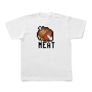 Tシャツ「骨付き肉(100TURN勇者)」