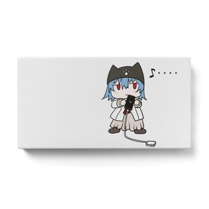 「藍川 茜ちゃん」モバイルバッテリー