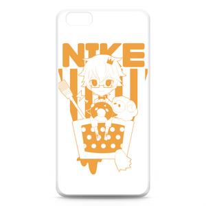 にけ iPhone6+ケース オレンジ
