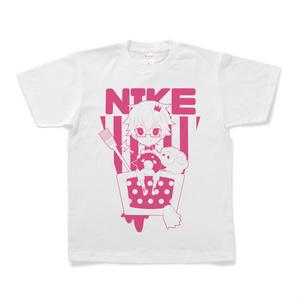 にけ Tシャツ ピンク
